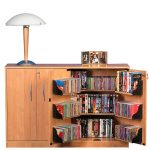 Oak TV Media Cabinet 2360-33OA