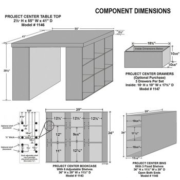 Component Dimensions